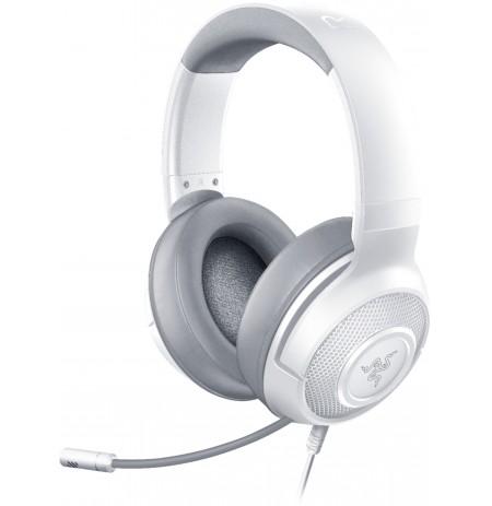 RAZER KRAKEN X MERCURY baltos laidinės ausinės su mikrofonu 7.1 | 3.5mm