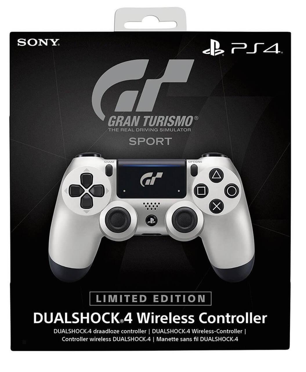 Sony PlayStation DualShock 4 V2 Controller - GT Sport Edition