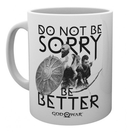 GOD OF WAR Sorry mug