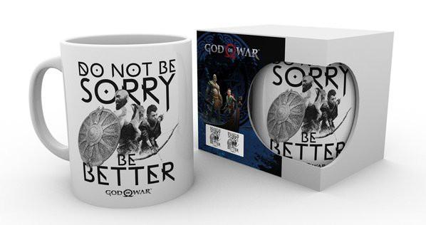GOD OF WAR Sorry puodukas