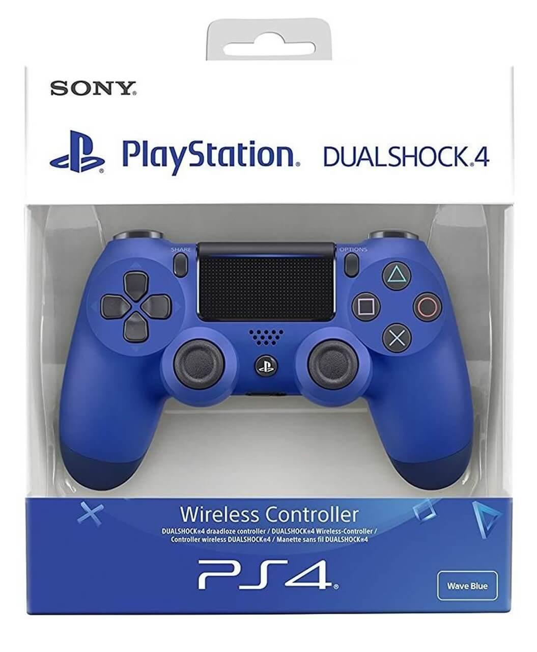 Sony PlayStation DualShock 4 V2 valdiklis - Wave Blue XBOX