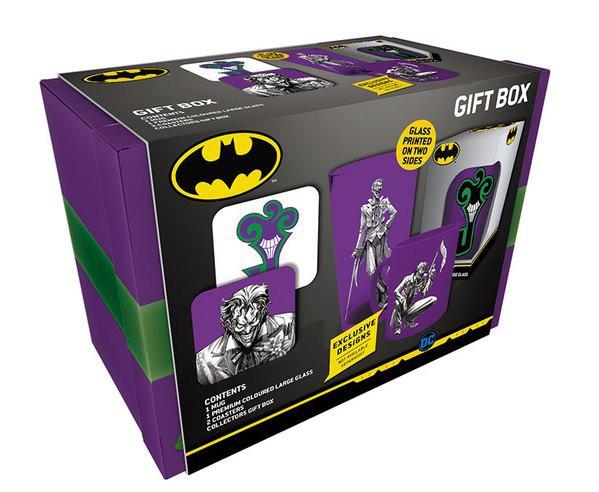 DC COMICS The Joker dovanų dėžutė