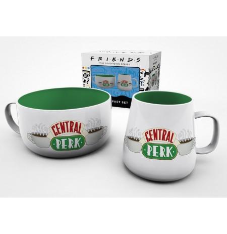FRIENDS Central Perk pusryčių puodelių rinkinys