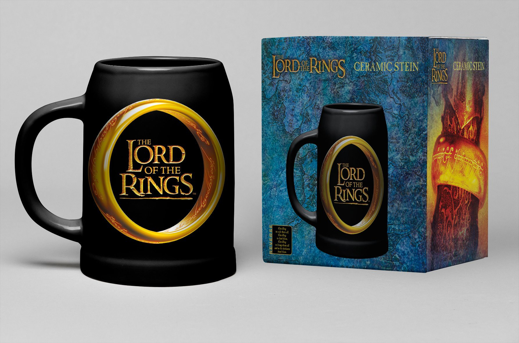 LORD OF THE RINGS One Ring bokalas 600ml