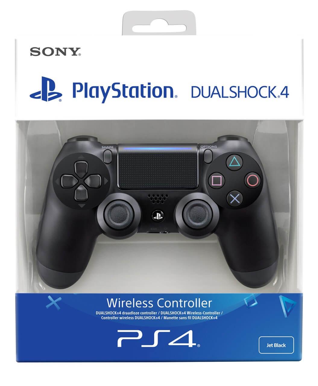 Sony PlayStation DualShock 4 V2 valdiklis - Jet Black XBOX