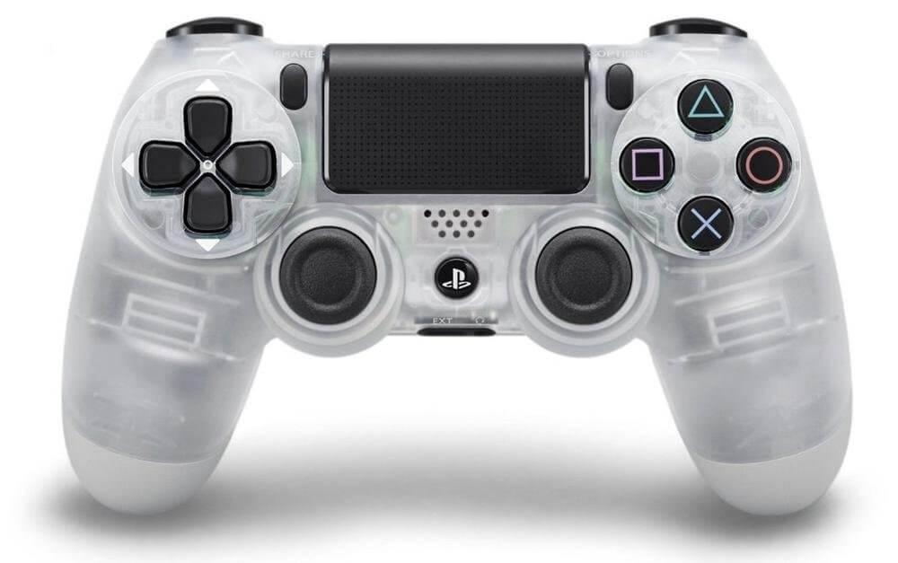 Sony PlayStation DualShock 4 V2 valdiklis - Crystal