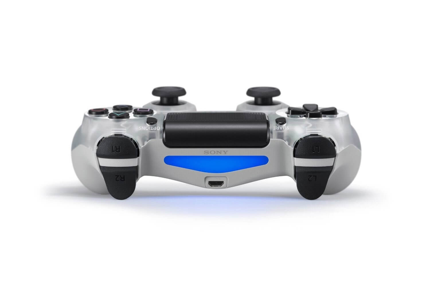 Sony PlayStation DualShock 4 Controller - Crystal