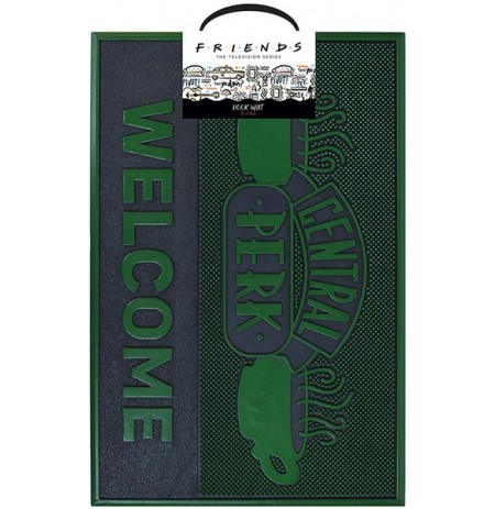 Friends Central Perk Cafe guminis durų kilimėlis| 60x40cm