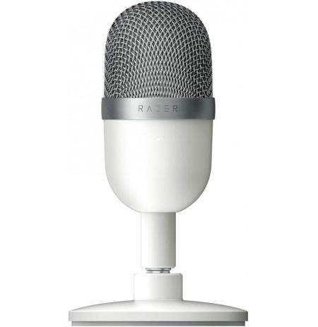 RAZER Seiren Mini kondensatorinis mikrofonas (Mercury White)