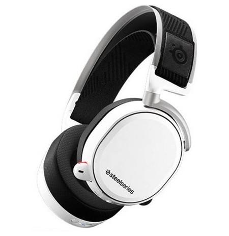 Steelseries Arctis Pro Wireless Baltos belaidės žaidimų ausinės