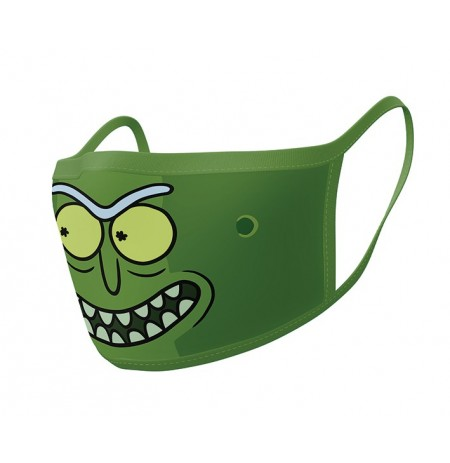 Rick and Morty (Pickle Rick) face covering 2pcs