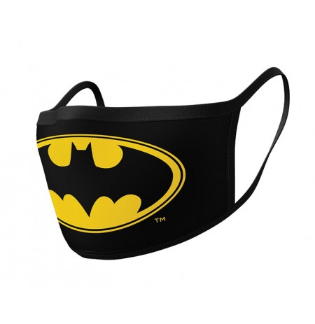 Batman (Logo) face covering 2pcs