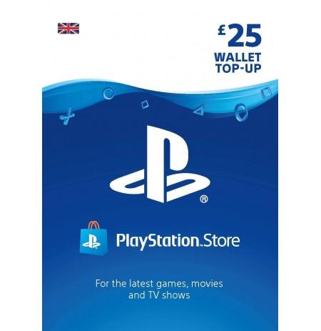 Playstation Network Card 25 GBP (United Kingdom)