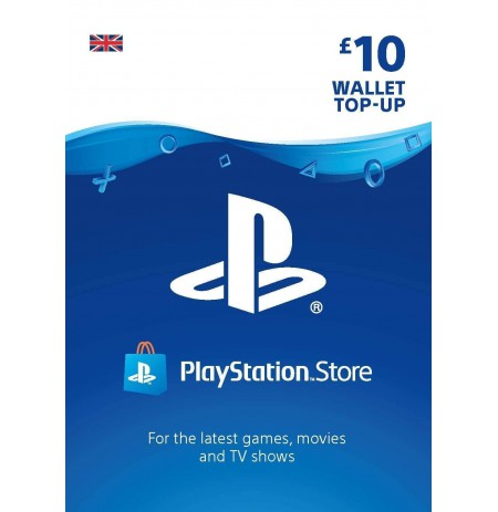 Playstation Network Card 10 GBP (Anglija)