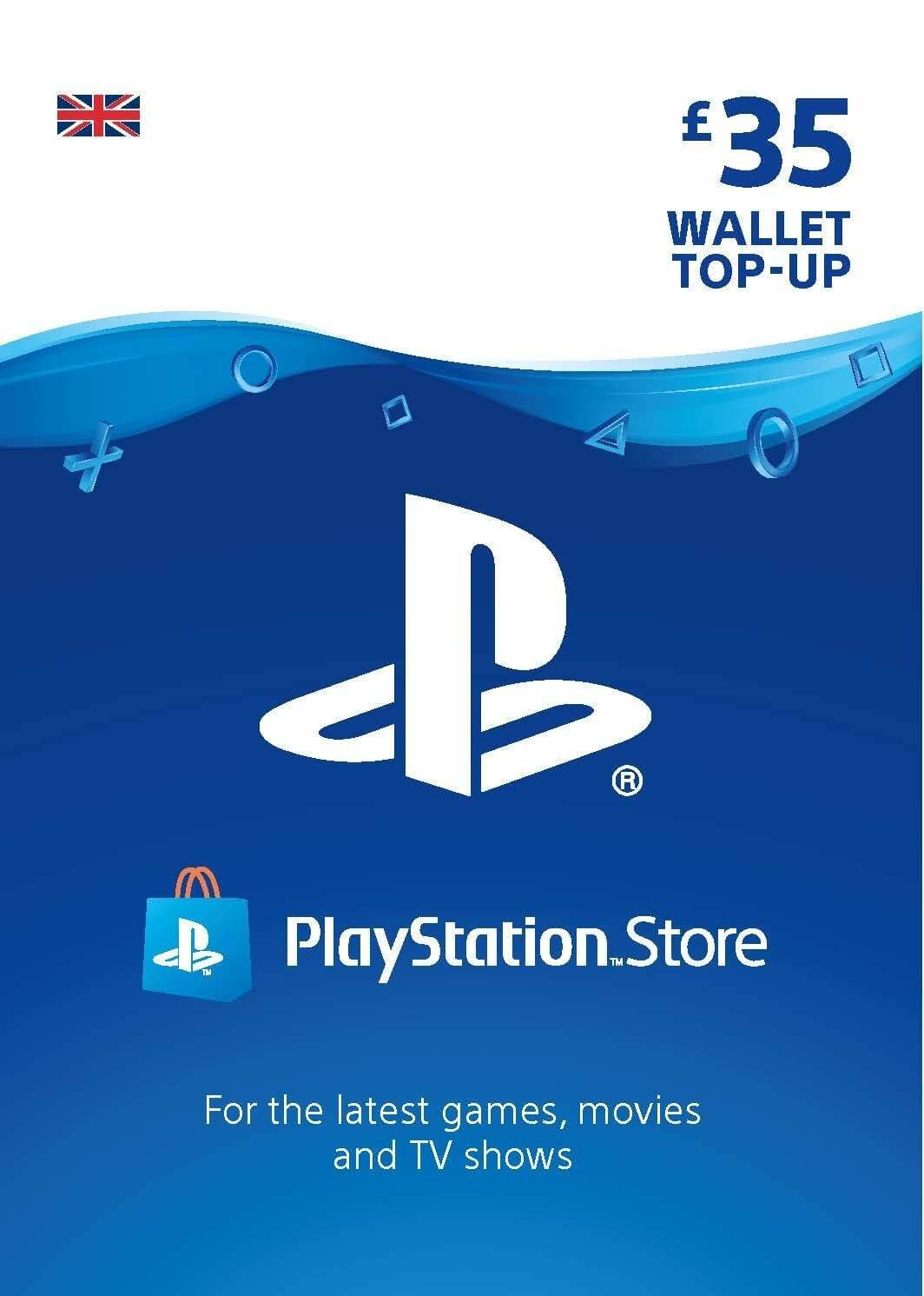 Playstation Network Card 35 GBP (United Kingdom)