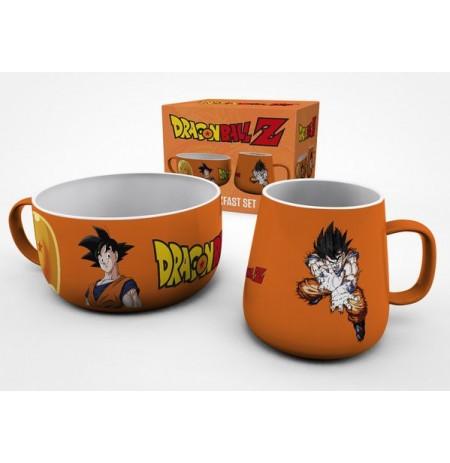 DRAGON BALL Z Goku pusryčių puodelių rinkinys