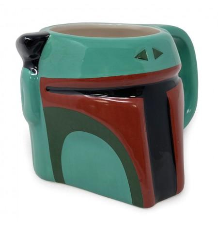Star Wars Boba Fett 3D Sculpted Mug 385ml