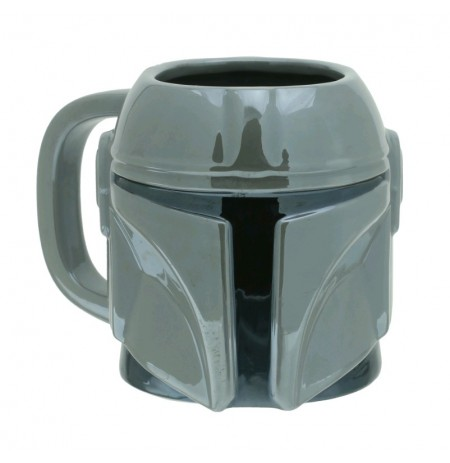 Star Wars - The Mandalorian Shaped 3D Mug 650ml