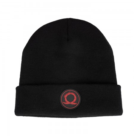 "God of War Beanie ""Serpent Logo"""