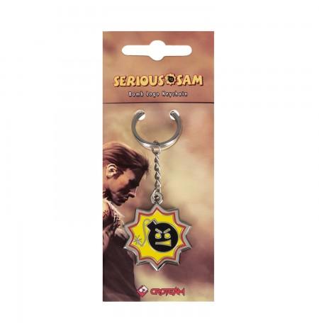 "Serious Sam ""Bomb Logo"" keychain"