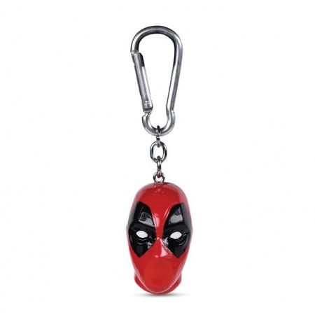 Deadpool (Head)  3D raktų pakabukas