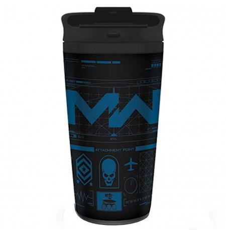 Call Of Duty Modern Warfare metal travel mug
