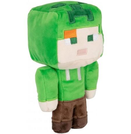 Minecraft: Happy Explorer - Alex in Creeper Costume pliušinis žaislas | 20cm