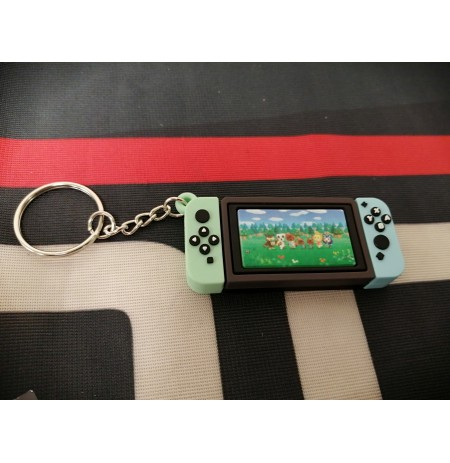 Animal Crossing console Keychain