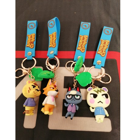 Animal Crossing Silica Gel Keychains