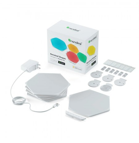 Nanoleaf Shapes Hexagons Starter Kit Mini (5 šviesos)