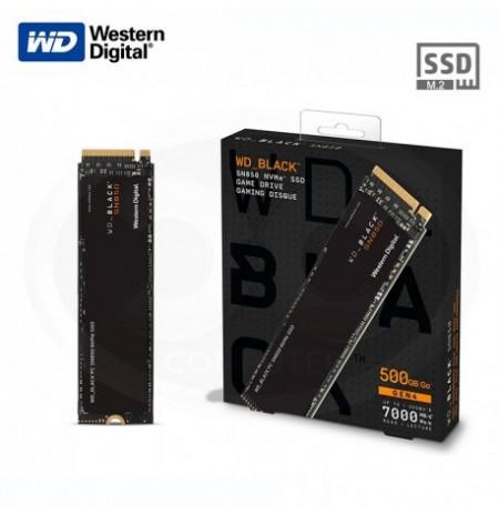 Western Digital WD_BLACK SN850 NVMe SSD skirtas PC/PS5