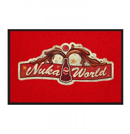 "FALLOUT ""NUKA WORLD"" Entrance Mat 