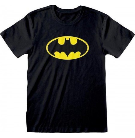 DC Originals Batman Official Logo black T-SHIRT  - Large size