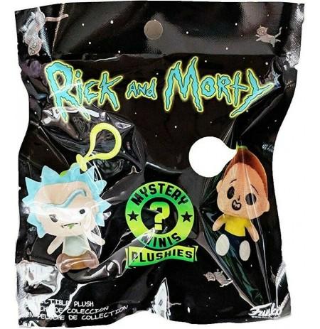 Rick and Morty Blind Bag pliušinis raktų pakabukas