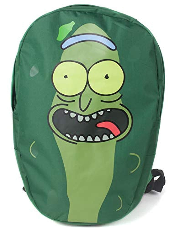 Rick And Morty - Pickle Rick Shaped kuprinė