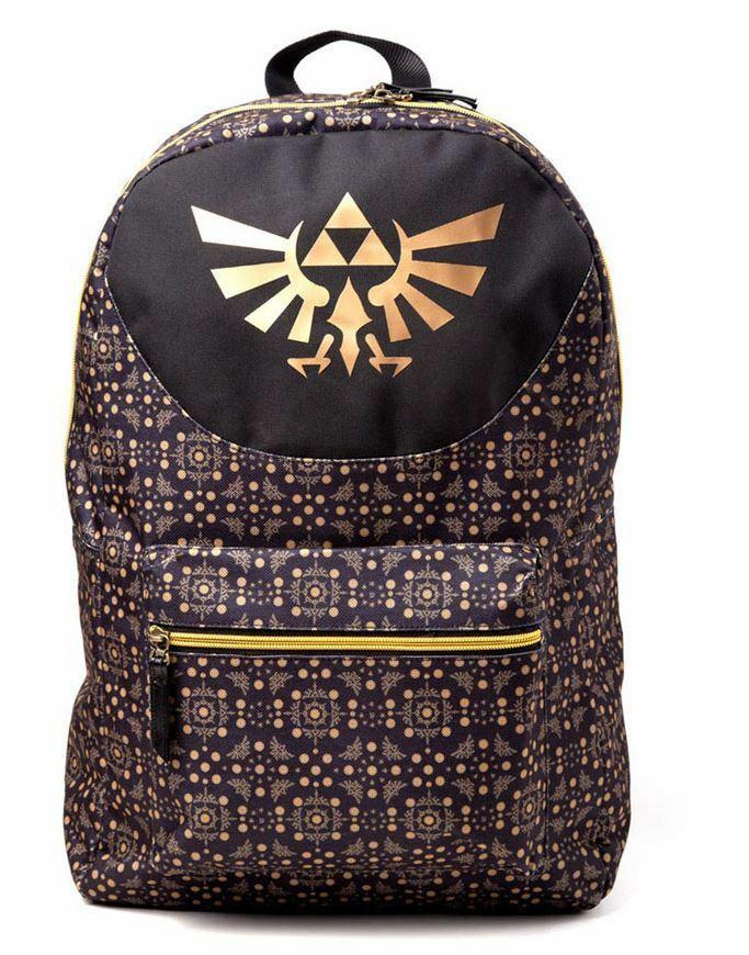 Nintendo - Legend of Zelda - All-over Pattern kuprinė