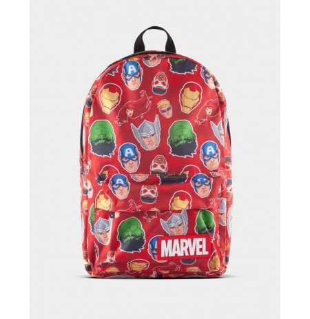 Marvel Comics Characters All Over Print Backpack
