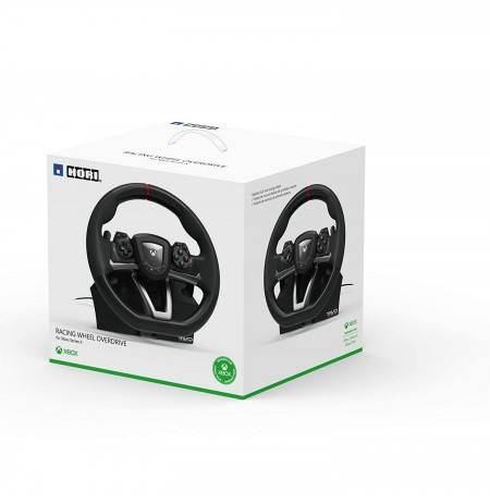 HORI  RWO Racing Wheel Overdrive Licensed by Microsoft| Xbox series X|S, Xbox One, and Windows 10