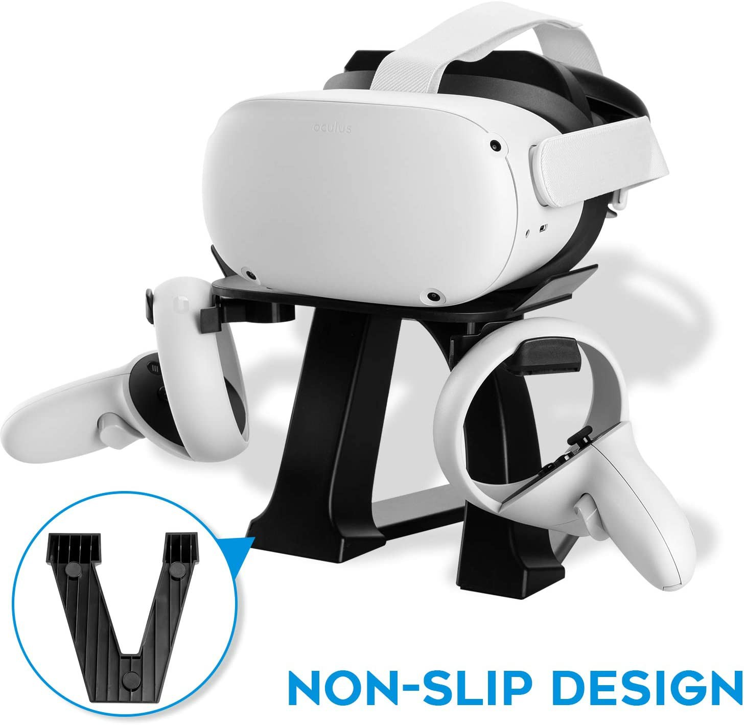NEWZEROL VR Stand for Headset and Controller for Oculus