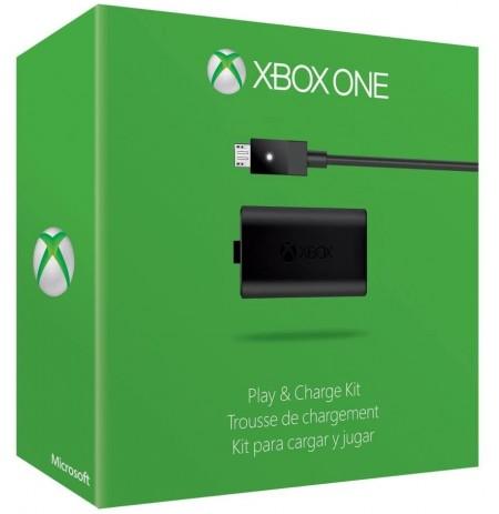 Microsoft Xbox One Play and Charge baterijos ir įkrovimo laido rinkinys | micro-USB