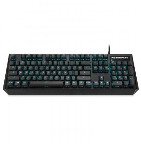 MOTOSPEED CK95 mechaninė klaviatūra su mėlynu apšvietimu (US, BLACK switch)