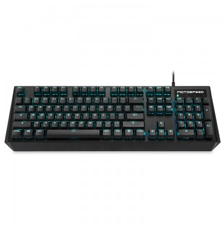 MOTOSPEED CK95 mechanical keyboard with Blue backlight (US, BLUE switch)