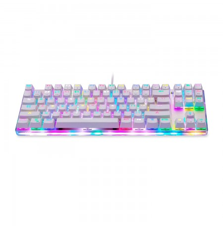 MOTOSPEED K87S mechanical keyboard with RGB (US, RED switch)