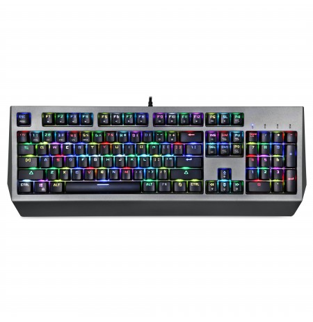 MOTOSPEED CK99 mechanical keyboard with RGB backlight (US, RED switch)