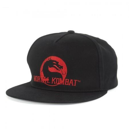 Mortal Kombat Dragon Snapback Cap