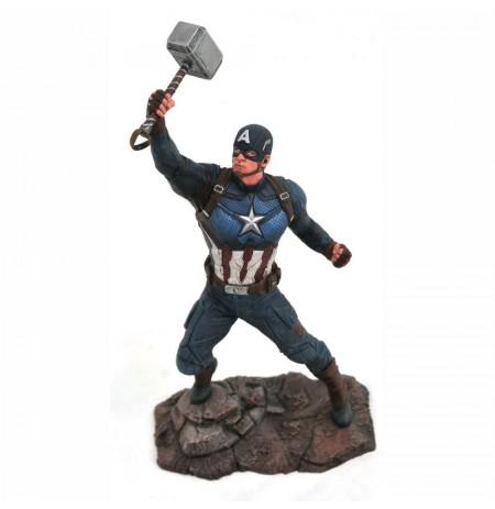MARVEL Gallery Avengers Endgame - Captain America statue | 23 cm