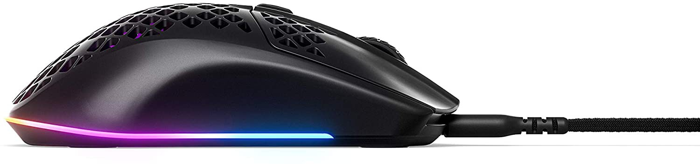 SteelSeries Aerox 3 laidinė pelė | 8500 DPI (juoda)