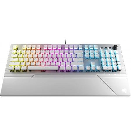 ROCCAT Vulcan 122 AIMO RGB white mechanical keyboard (US, Titan switch)