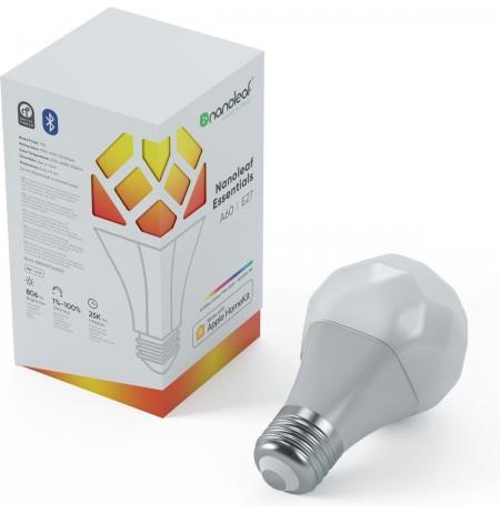 Nanoleaf Essentials Smart A19 | E27 lemputė | 800Lm, balta