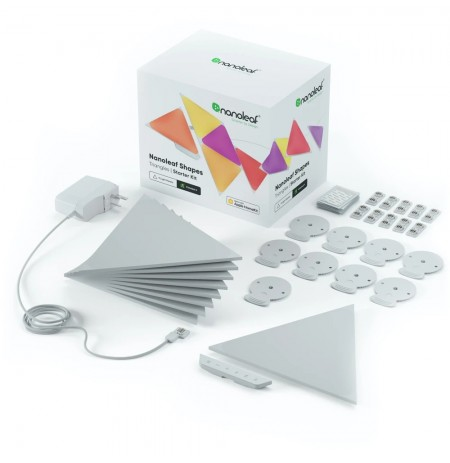 Nanoleaf Shapes Triangles Starter Kit (9 šviesos)